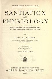 Cover of: Sanitation and physiology | John W. Ritchie