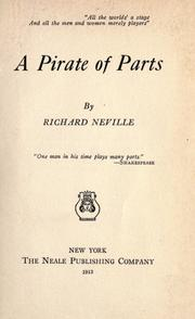 Cover of: A pirate of parts | Neville, Richard.