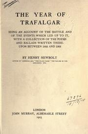 Cover of: The year of Trafalgar by Newbolt, Henry John Sir