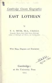 Cover of: East Lothian | Thomas Scott Muir