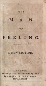 Cover of: The Man of Feeling | Henry Mackenzie