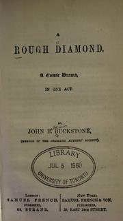 Cover of: A rough diamond | Buckstone, John Baldwin