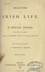 Cover of: Realities of Irish life by William Steuart Trench