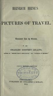 Cover of: Reisebilder by Heinrich Heine