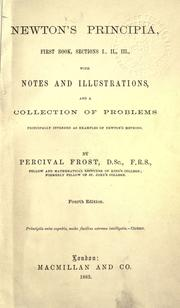 Cover of: Philosophiae naturalis principia mathematica by John Conduitt