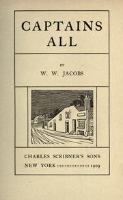 Cover of: Captains all by W. W. Jacobs