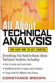 Cover of: All About Technical Analysis | Constance Brown