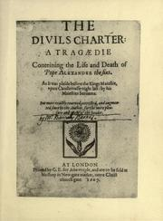 Cover of: The divils charter | Barnabe Barnes