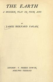 Cover of: The earth by James Bernard Fagan