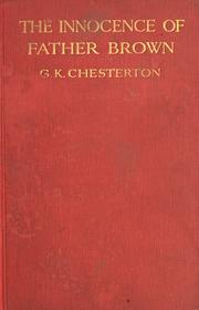 Cover of: The Innocence of Father Brown | G. K. Chesterton