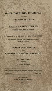 Cover of: A hand book for infantry | Duane, William