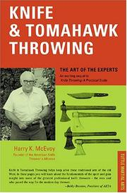 Cover of: Knife and Tomahawk Throwing by Harry K. McEvoy