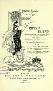 Cover of: Imperial Britain | Theodore Johnson