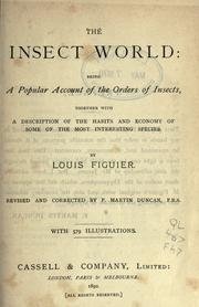 Cover of: The insect world | Louis Figuier
