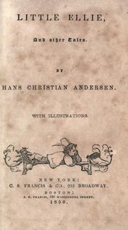 Cover of: Little Ellie and other tales | Hans Christian Andersen