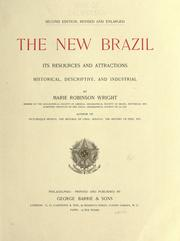 Cover of: The new Brazil by Marie Robinson Wright
