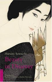 Cover of: Beauty In Disarray (Classics of Japanese Literature) by Setouchi, Harumi
