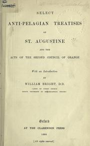 Cover of: Selected works | Augustine of Hippo