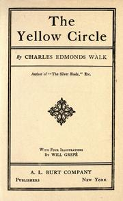 Cover of: The yellow circle | Charles Edmonds Walk