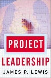 Cover of: Project Leadership | James P. Lewis