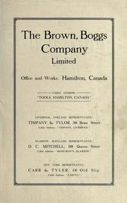 The Brown, Boggs Company Limited