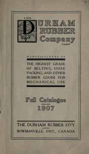 The Durham Rubber Company Limited