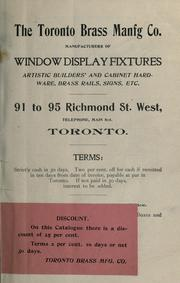 The Toronto Brass Manufacturing Company