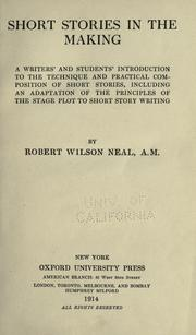 Cover of: Short stories in the making | Neal, Robert Wilson