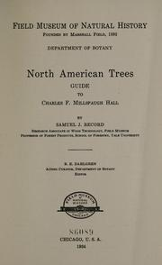 Cover of: North American trees by Field Museum of Natural History.