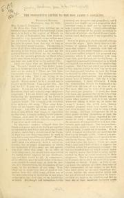 Cover of: The President's letter to the Hon. James C. Conkling ... Aug. 26, 1863 by Abraham Lincoln