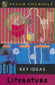 Cover of: Teach Yourself 101 Key Ideas Literature | Brenda Downes