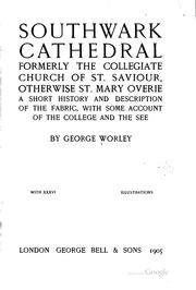 Cover of: The cathedral church of Southwell | Arthur Dimock