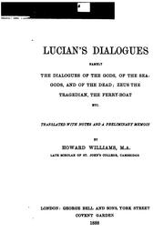 Cover of: Dialogi by Lucian of Samosata