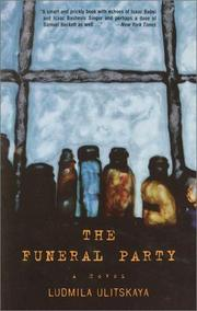 Cover of: The Funeral Party by Ludmila Ulitskaya