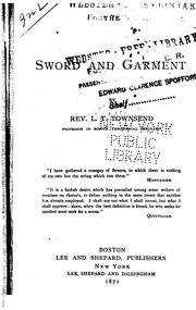 Cover of: The Sword and Garment | L. T. Townsend
