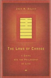 Cover of: The Laws of Change by Jack M. Balkin