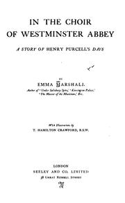 Cover of: In the choir of Westminister abbey | Emma Marshall