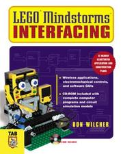 Cover of: Lego Mindstorms Interfacing (Tab Electronics Robotics) | Don Wilcher