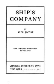 Cover of: Ship's company | W. W. Jacobs