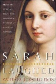 Cover of: Sarah Laughed | Vanessa Ochs