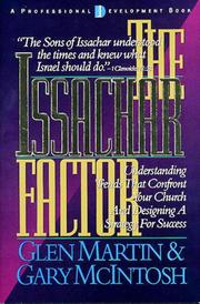 Cover of: The Issachar Factor by Glen Martin