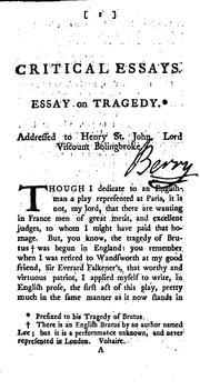 an essay of dramatic poesy full text