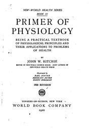 Cover of: Primer of physiology | John W. Ritchie