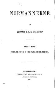 Cover of: Normannerne by Johannes C. H. R. Steenstrup