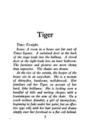 Cover of: Tiger | Witter Bynner