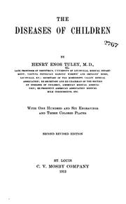 Cover of: The diseases of children | Henry Enos Tuley