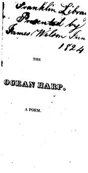 Cover of: The ocean harp by Agg, John