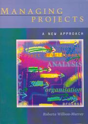 Cover of: Managing projects | Roberta Willson-Murray