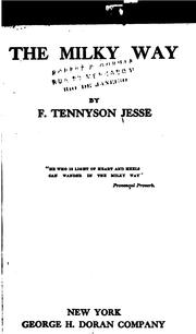 Cover of: The milky way | F. Tennyson Jesse
