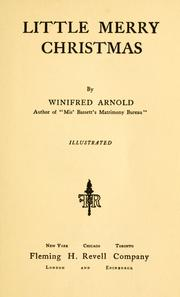 Cover of: Little Merry Christmas by Winifred Arnold